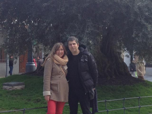 Kepa Junkera y Prado Perez de Madrid